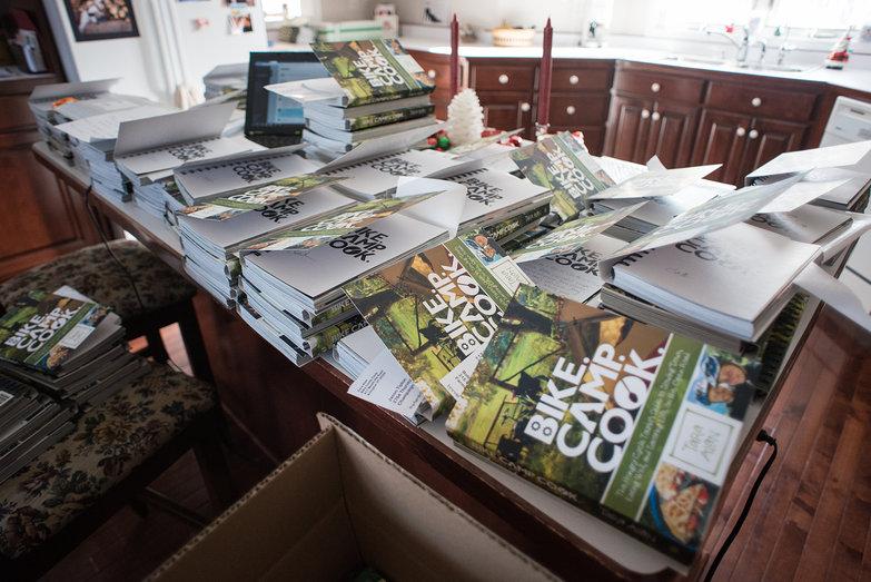 Bike. Camp. Cook. Kickstarter Orders