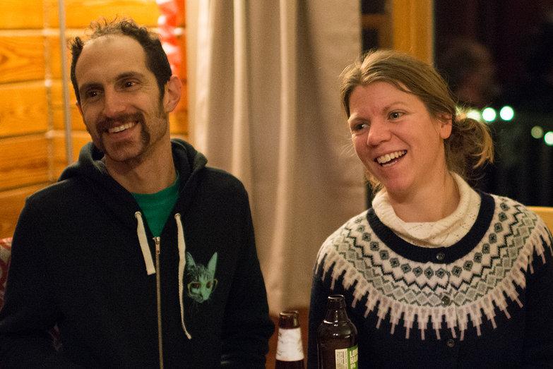Greg & Joanna at Tara's Surprise Party