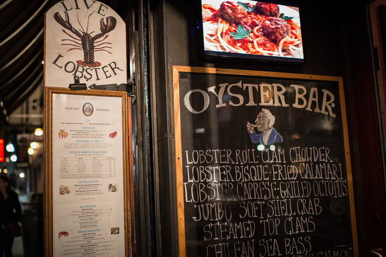 Oyster Bar in Boston's North End