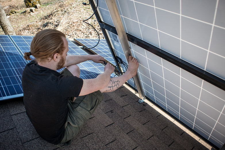 Tyler Wiring Solar Panels