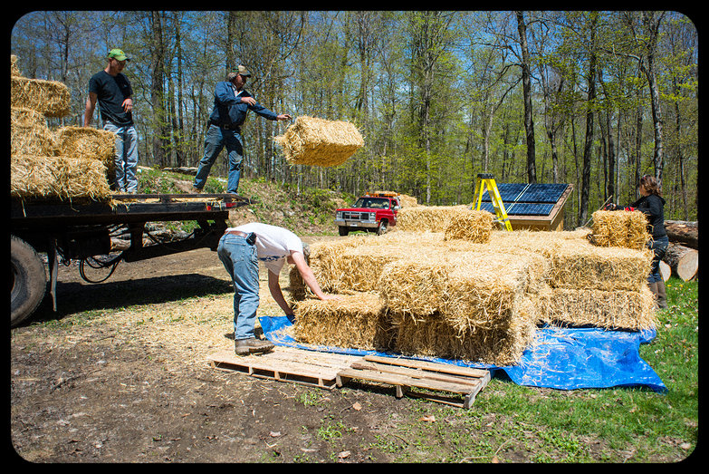 Kolakoski Farm Straw Bale Delivery!