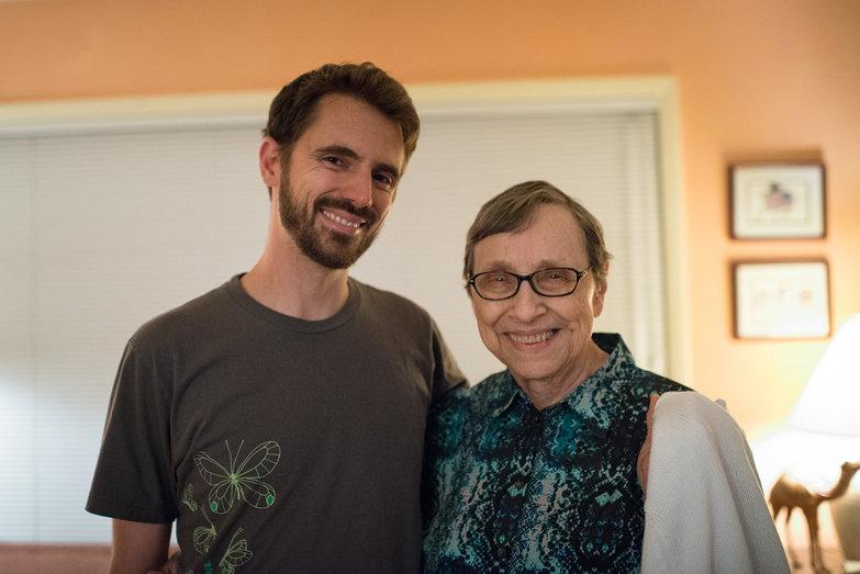 Lian & Grandma Jeanne