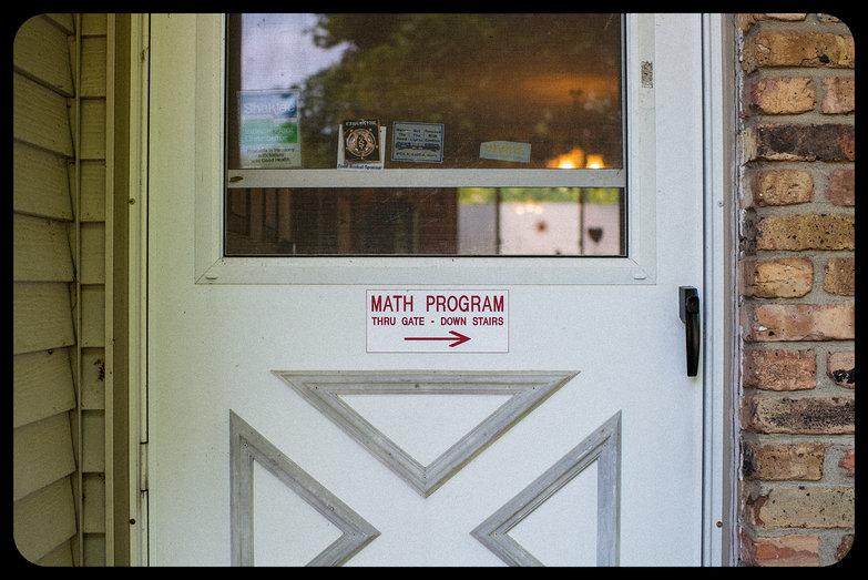 The Math Program Sign