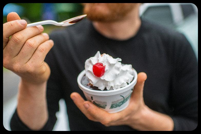 Ice Cream Sundae from The Dairy Barn