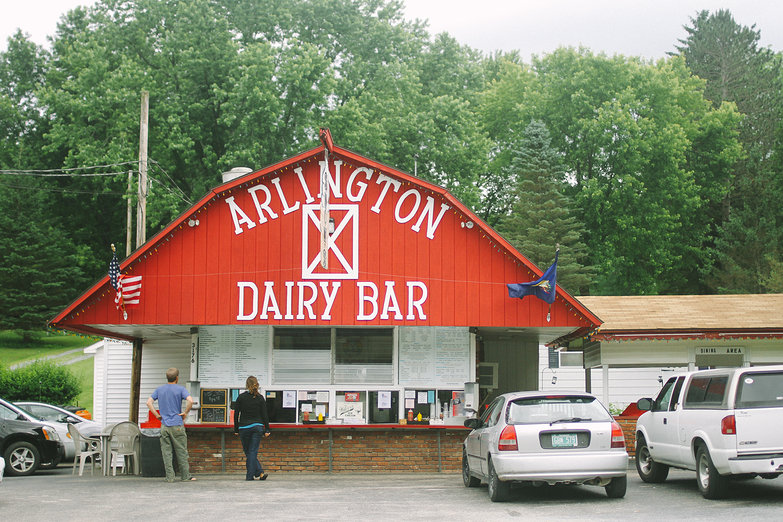 Arlington Dairy Bar (by Natasha)