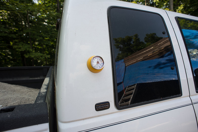 Kitchen Timer on Truck (For Plaster Mix Timing)