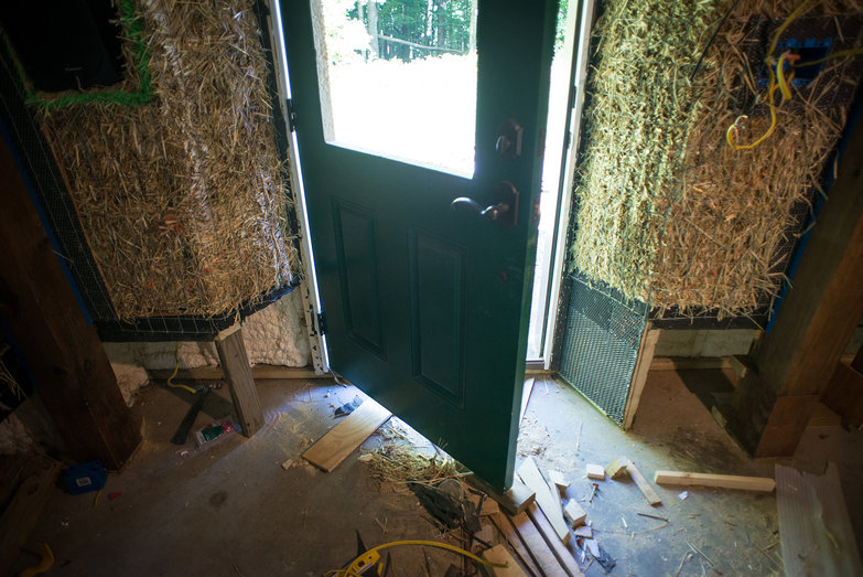 Strawbale House Pony Wall Doorway Nooks