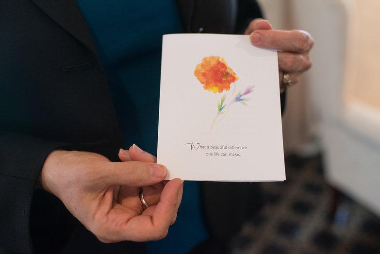 Jeanne Marsh Memorial Card