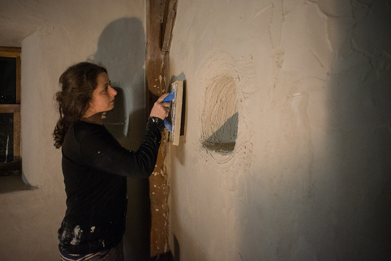 Tara Burnishing Lime Plaster Finish Coat with Sponge Float