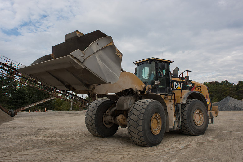 Front End Loader at Dailey's Yard
