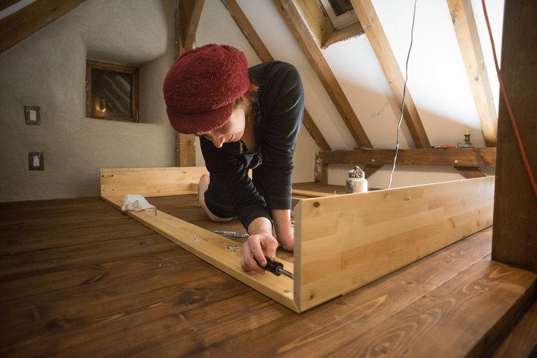Tara Assembling Ikea Mandal Bed