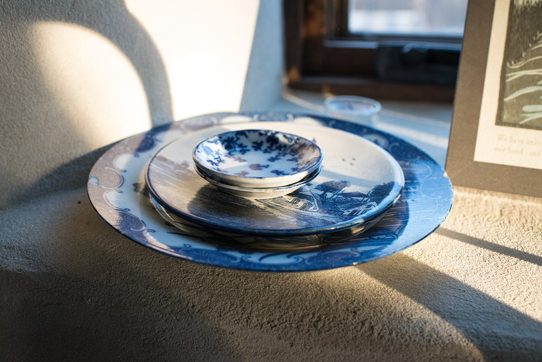 Pretty Blue & White Plates