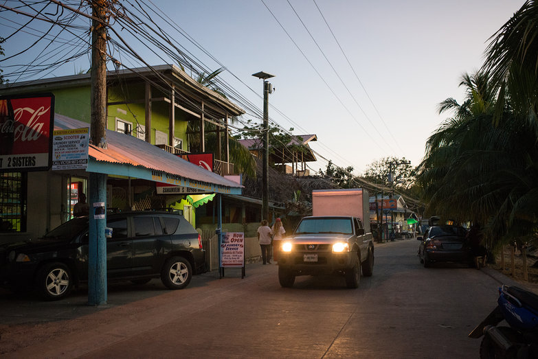 West End (Roatan) at Dusk