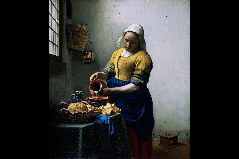 The Milkmaid (Johannes Vermeer)