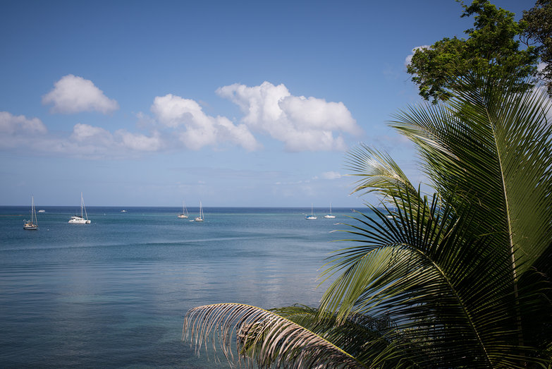 View from Roatan Guest House Porch