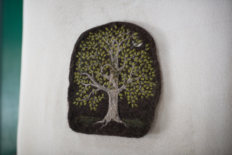 Mary's Needle Felted Tree of Life (aka Amazingly Beautiful Birthday Gift!!)