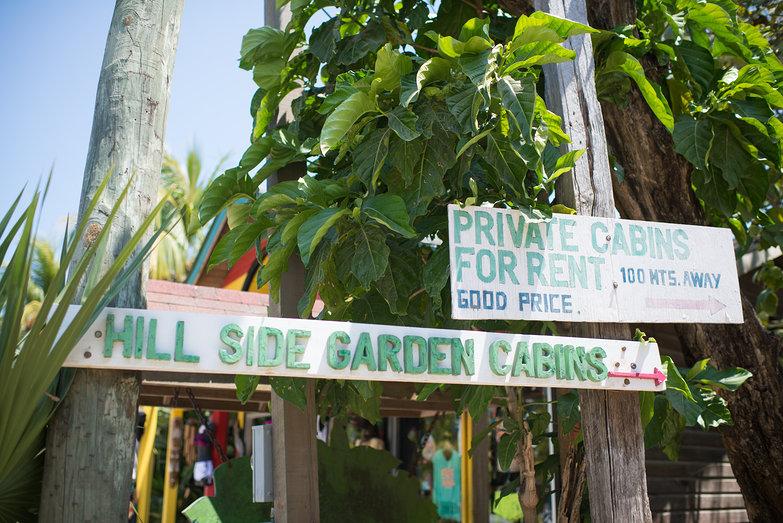 Hill Side Garden Cabins in Roatan