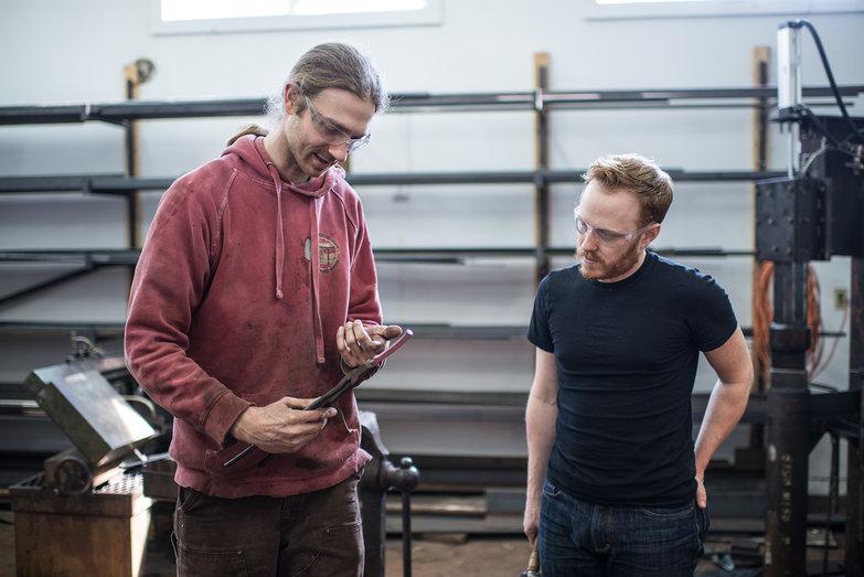 Blacksmithing Lesson w/ Erik Newquist