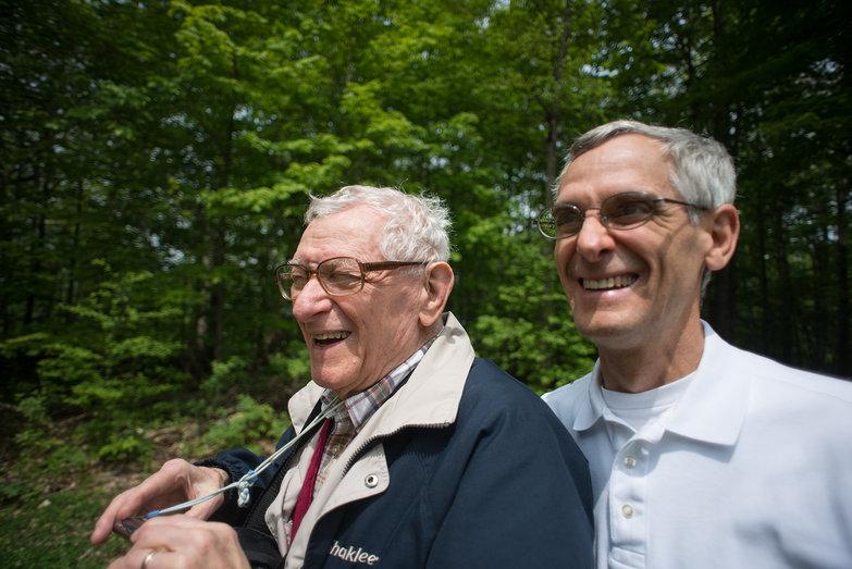 Grandpa Don & Dad