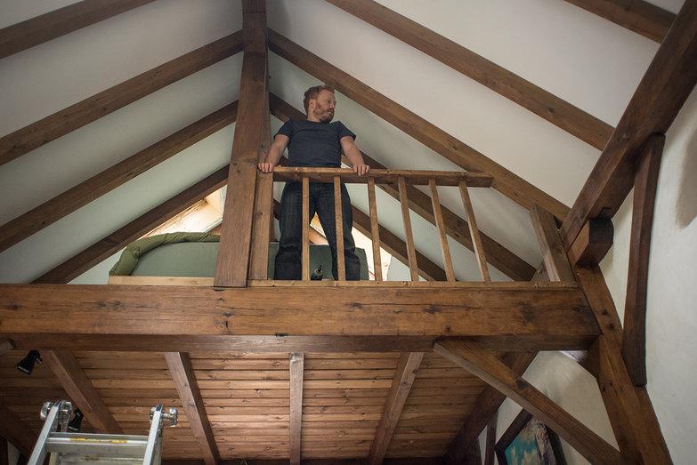 Tyler with Loft Railing