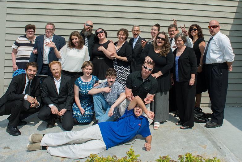 Cohen Family Group Shot (Goofy)