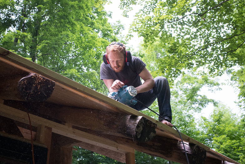 Tyler Trimming Grindbygg Roof Decking