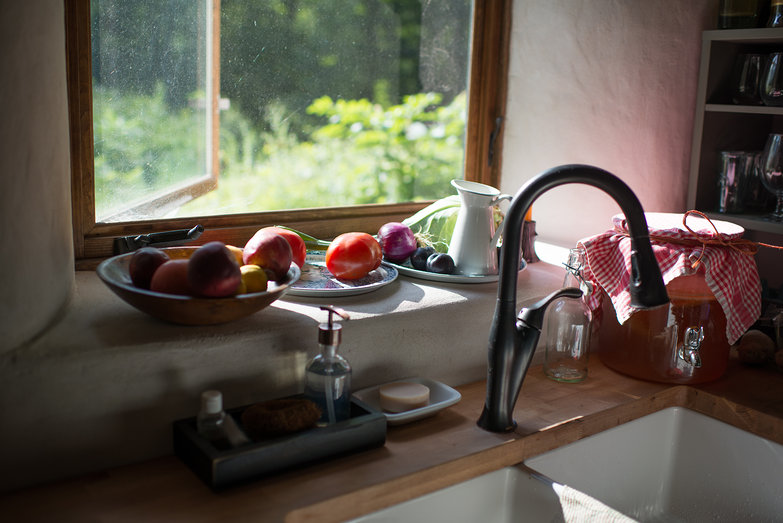 Kitchen Sink & Window