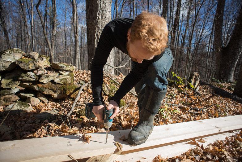 Tyler Building Woodshed