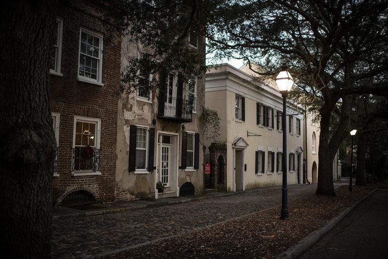 Charleston Street at Dusk