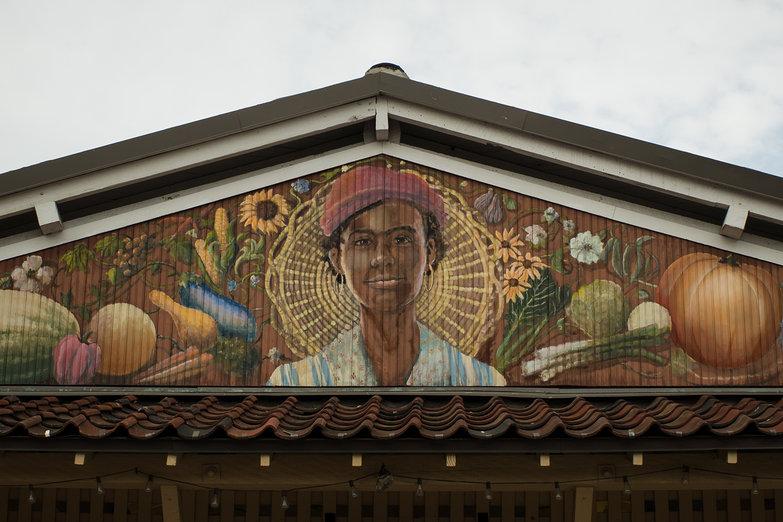 Charleston Market Mural
