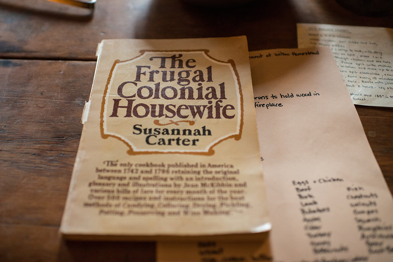 The Frugal Colonial Housewife Cookbook
