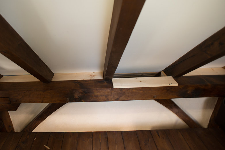 Indoor Eave Trim (unstained)