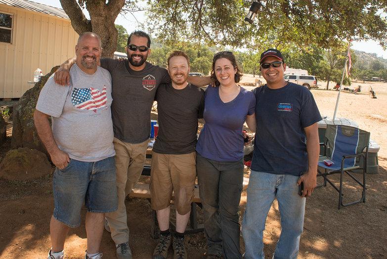 Bob, Jeremiah, Tyler, Tara & Joe Cruz