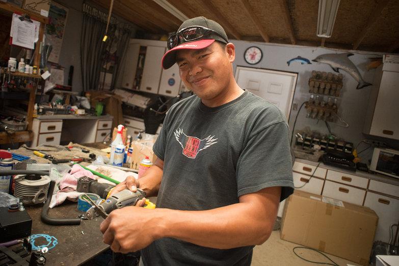 Joe Cruz @ BlackHawk Paramotors Shop