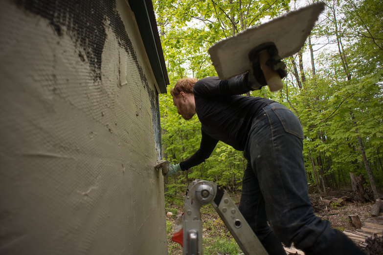 Tyler Plastering Cistern Shed