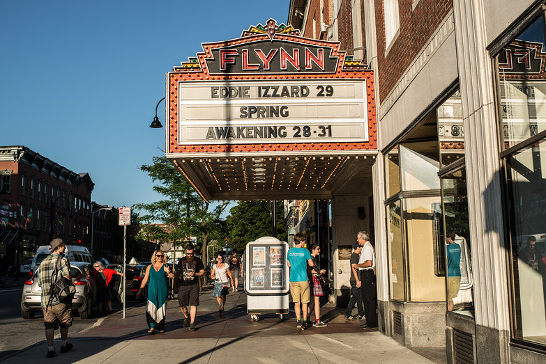 Eddie Izzard Show at Flynn Center, Burlington