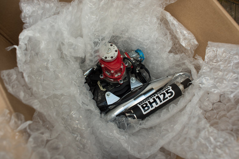 Blackhawk Paramotor Motor Arrives!