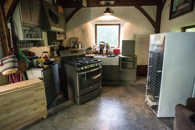 Dismantling the Cottage for Earthen Floor Application