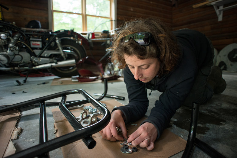 Tara Choosing Washers for Paramotor Quad