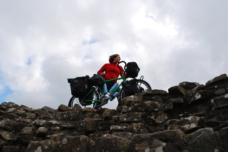 Tara on Hadrian's Wall