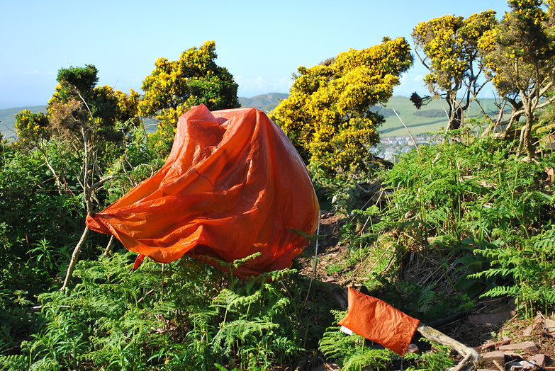 Drying the Groundsheet