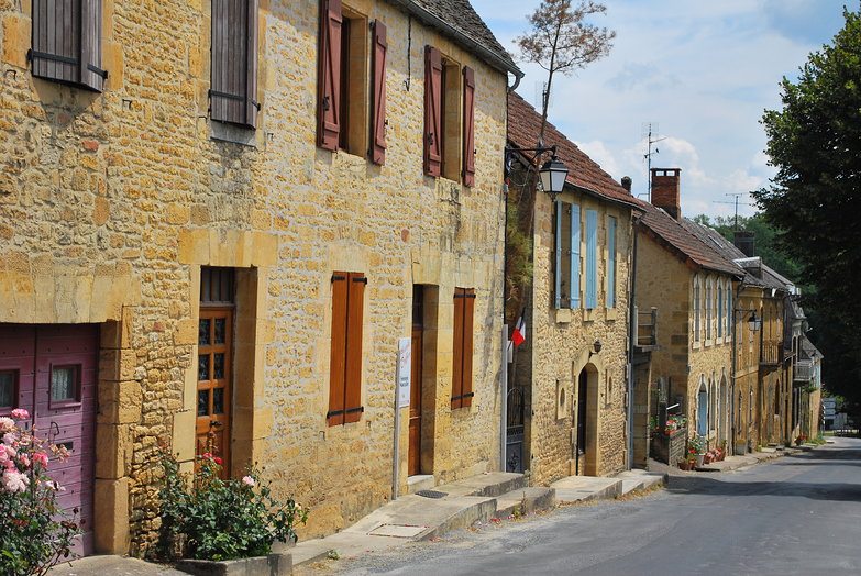 French Village Street