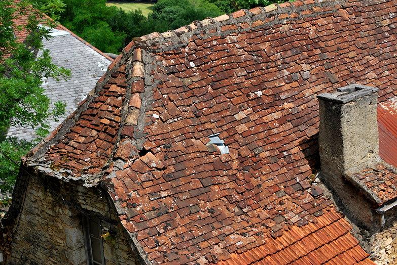 Rocamadour Roof