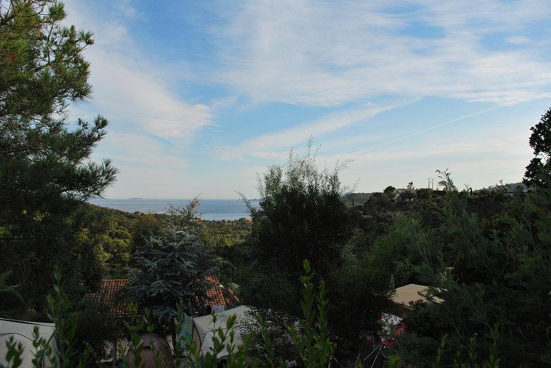 Hilltop Campsite View