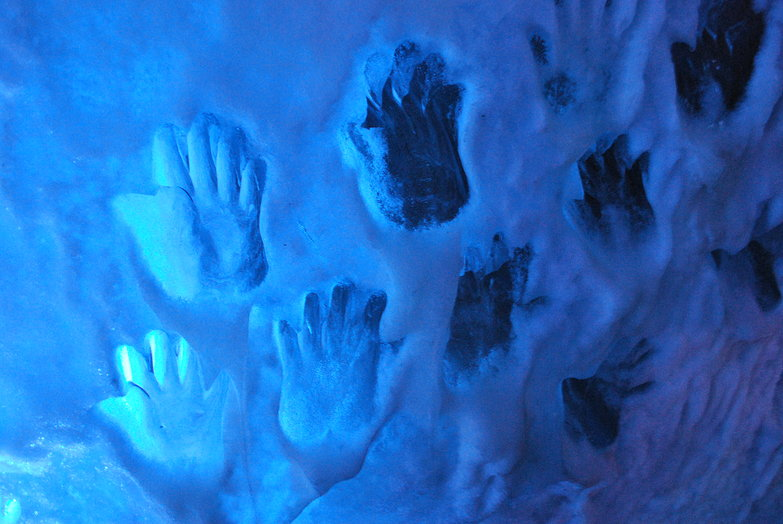 Glacier Handprints