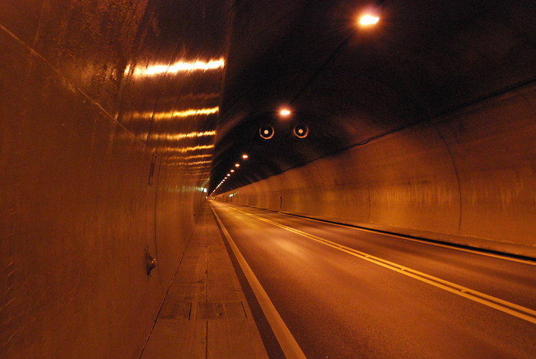 Tunnel to Goppenstein