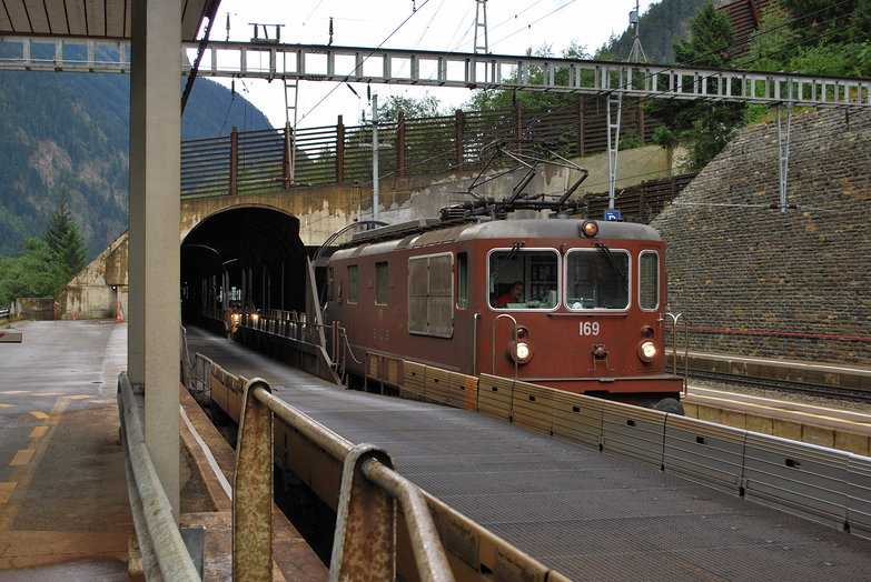 Lötschberg Tunnel Train