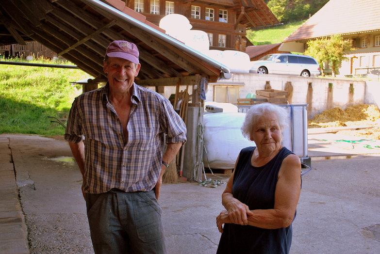 Grandpa & Grandma Farmers