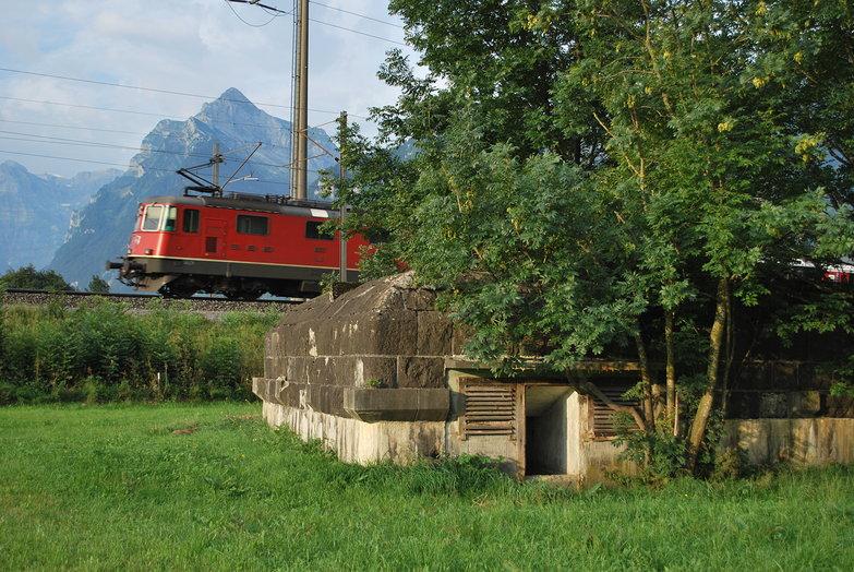 Train & Bunker