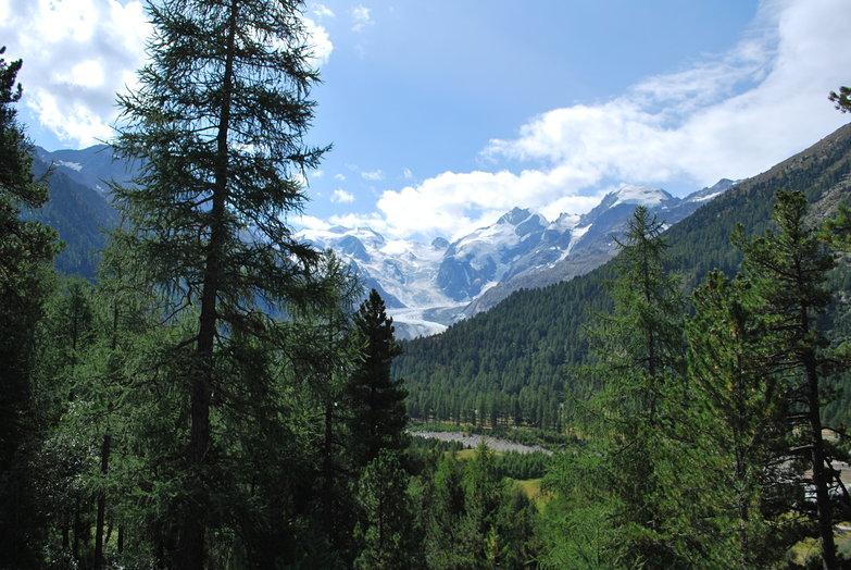 Snowy Alpine Peaks
